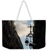 A Necklace Of Barcelona Streetlamps Weekender Tote Bag