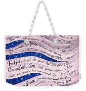 A New Creation Weekender Tote Bag