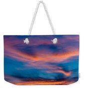 A New Day Starts Weekender Tote Bag