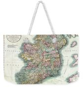 A New Map Of Ireland 1799 Weekender Tote Bag