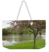 A New Pond Weekender Tote Bag