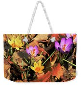 A New Season Blooms Weekender Tote Bag