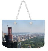 A New Skyscraper In Nyc Skyline Weekender Tote Bag