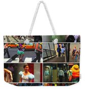 A New York Minute Weekender Tote Bag by Nishanth Gopinathan