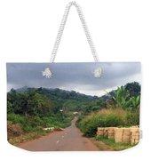 A Nice Nigerian Road Weekender Tote Bag