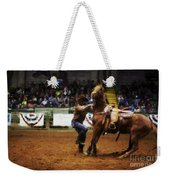 A Night At The Rodeo V13 Weekender Tote Bag