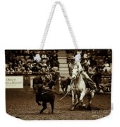 A Night At The Rodeo V14 Weekender Tote Bag