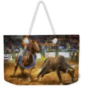 A Night At The Rodeo V18 Weekender Tote Bag