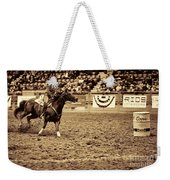 A Night At The Rodeo V22 Weekender Tote Bag
