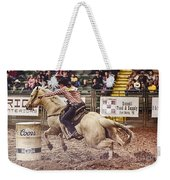 A Night At The Rodeo V34 Weekender Tote Bag