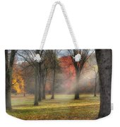 A November Morning Square Weekender Tote Bag