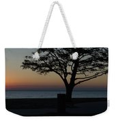 A November Sunset Weekender Tote Bag