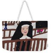 A Nun In Prayer Weekender Tote Bag