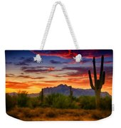 A Painted Desert  Weekender Tote Bag