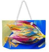 A Painted Tulip. Weekender Tote Bag