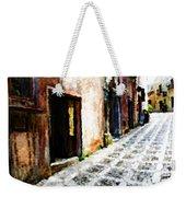 A Painting An Italian Street Weekender Tote Bag