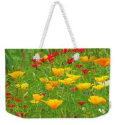 A Painting Tuscan Poppies Weekender Tote Bag