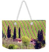 A Painting Tuscan Vineyard Weekender Tote Bag