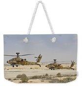 A Pair Of Ah-64d Saraf Attack Weekender Tote Bag