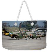 A Pair Of Hellenic Air Force T-2 Weekender Tote Bag