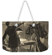 A Parisien Drama, Illustration From Le Weekender Tote Bag