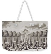 A Parterre With Orange Trees In The Garden Of The Lichtenstein Palace Weekender Tote Bag