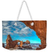 A Partial View Weekender Tote Bag by Dustin  LeFevre