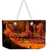 A Pause In Monument Park Weekender Tote Bag