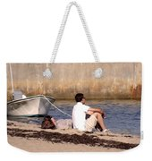 A Peaceful Day At Provincetown  Weekender Tote Bag