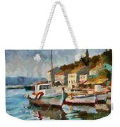 A Peaceful Harbour  Weekender Tote Bag