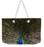 A Peacock's Feathers Weekender Tote Bag