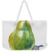 A Pear Weekender Tote Bag