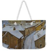 A Perfect Winter Night Weekender Tote Bag