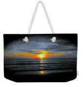 A Phoenix Firebird Sunset Weekender Tote Bag