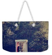 A Phone In A Booth? Weekender Tote Bag