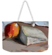 A Piece Of Goat Cheese Weekender Tote Bag