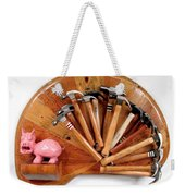 A Pigs Interest   #64 Weekender Tote Bag