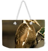 A Pileated With Intent Weekender Tote Bag