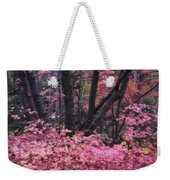 A Pink Autumn  Weekender Tote Bag