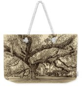 A Place For Dying Sepia 2 Weekender Tote Bag