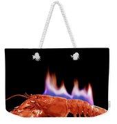 A Plate Of Lobster Flambe Weekender Tote Bag