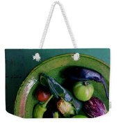A Plate Of Vegetables Weekender Tote Bag
