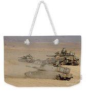 A Platoon Of Israel Defense Force Weekender Tote Bag