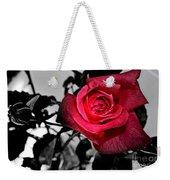 A Pop Of Red - Rose  Weekender Tote Bag