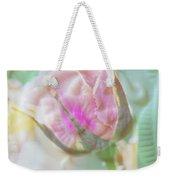 A Porcelain Rose Weekender Tote Bag