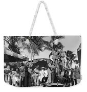 A Portable Jazz Band In Miami Weekender Tote Bag