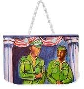 Daddy Soldier Weekender Tote Bag