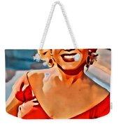 A Portrait Of Marilyn Weekender Tote Bag