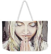 A Prayer... Weekender Tote Bag