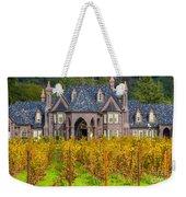 The Ledson Castle - Kenwood, California Weekender Tote Bag